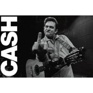 Johnny Cash (Middle Finger 2) Music Poster Print   24 X 36 People