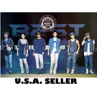 B2ST in tank tops POSTER 34 x 23.5 B$ST BEAST Korean boy
