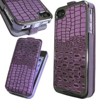 Use Cool Best Special Crocodile Chrome Flip Leather Case for iPhone