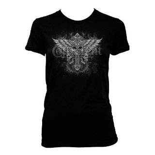 Amor Womens T shirt, Give Me Your Love Womens Tattoo T shirt Clothing