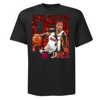 NBA Miami Heat LeBron James Player Vision Tee Shirt Boys