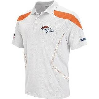 Denver Broncos 2010 Orange Sideline Team Polo Shirt:
