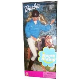 Horse Riding BARBIE & CHAMPION Horse Set (Reitspass) (1994