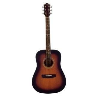 Hohner HW300G SB Mahogany Dreadnaught Acoustic Guitar, Sunburst Gloss
