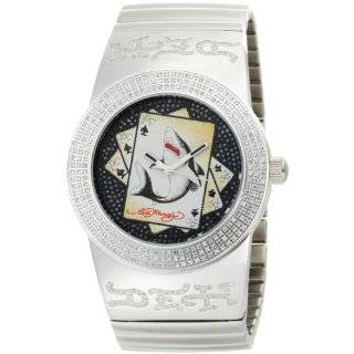 Ed Hardy Mens BN DR Bandit Dragon Stainless Steel 316L