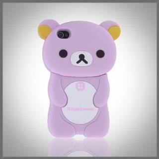 3D Brown Big Teddy Bear Zany Hybrid case cover for Apple