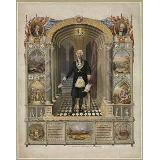 FREEMASONS MASONIC President GEORGE WASHINGTON AS MASON