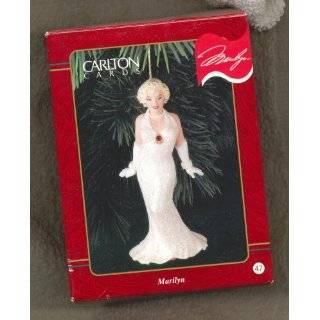 Marilyn Monroe   Hollywood Marilyn 1999 Carlton Cards Christmas