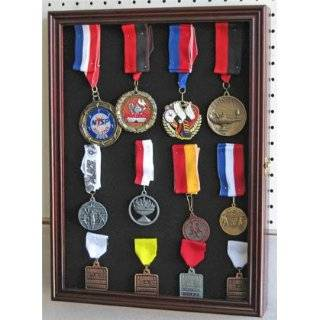Medals Display Case:  Sports & Outdoors