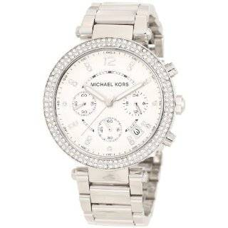 Michael Kors Quartz, Silver Dial with Stainless Steel Band