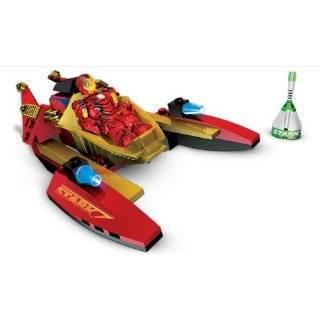 Mega Bloks Ironman 2 Whiplash Showdown Toys & Games