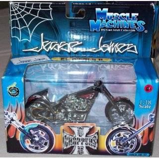 West Coast Choppers Jesse James 118 Scale   EL Diablo II JJ03 18 17