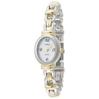 Elgin Womens BHGL07 Black Hills Gold Tone Bracelet Watch