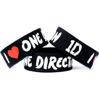 One Direction Wrist Band Single Bracelet for Music Fans Concert