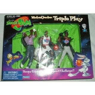Warner Bros Space Jam Michael Jordan Action Figure Set Toys & Games