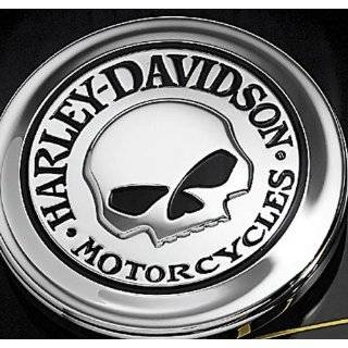 Harley Davidson Willie G Skull Fuel Cap Cover Medallion 99670 04