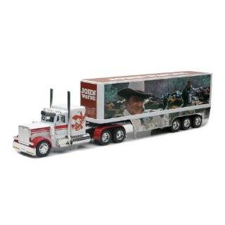 John Wayne Peterbilt Die Cast Semi Truck Tractor and Trailer Hauler