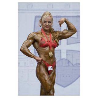 Wall Art > Posters > 2009 European Womens Bodybuilding