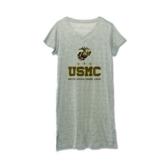 USMC   Eagle Globe Anchor Womens Nightshirt by TeamWinchester