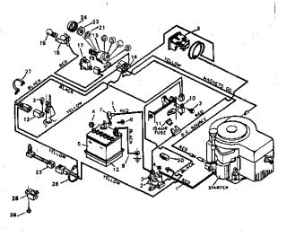 14 5 Briggs And Stratton Wiring Diagram furthermore  on kohler mand engines charging system