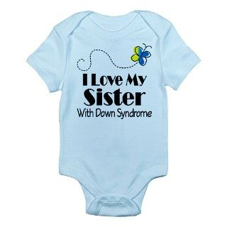 Gifts > Awareness Baby Clothing > Down Syndrome Sister Infant Bodysuit
