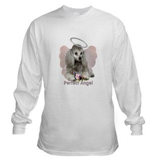 Angel Gifts > Angel Long Sleeve Ts > Poodle Perfect Angel Wings Long