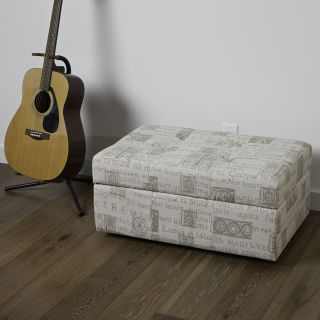 veranda latin script fabric storage ottoman today $ 99 99