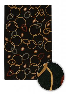 Hand tufted Contemporary Terra Wool Rug (8 Round)
