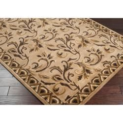 Hand tufted Natural Adari New Zealand Wool Rug (2 x 3)