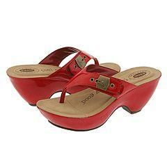 Dr. Scholls Impulse Red Patent(Size 10 M)