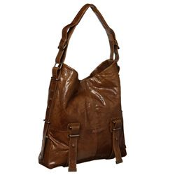 BCBGMAXAZRIA Fiona Leather Hobo