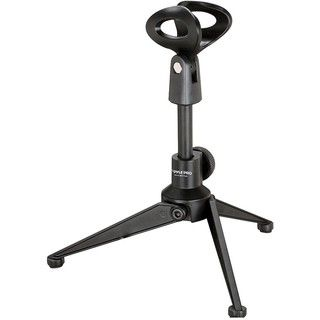 PylePro Adjustable Desktop Tripod Microphone Stand