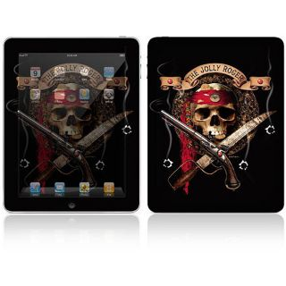 The Jolly Roger Apple iPad Decal Skin