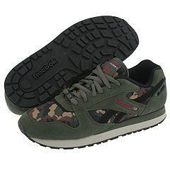 Reebok Lifestyle GL 6500 Camo SE Compass/Black/Triathlon Red/Stucco