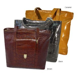 APC Synthetic Leather Kenya Croco Catch all Tote