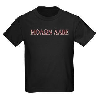 Molon Labe Kids Dark T Shirt