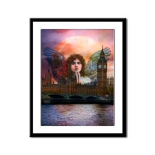 Framed Angel Prints : Angel Art by Eve