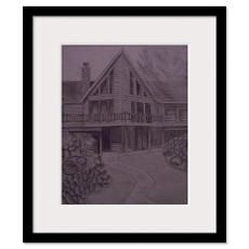 Log Cabin Framed Prints  Log Cabin Framed Posters