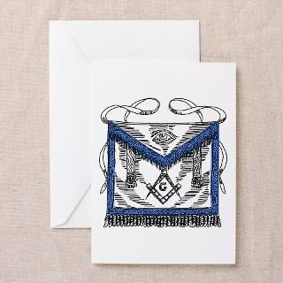 Masonic Apron Greeting Cards (Pk of 10)