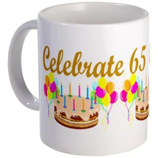 65Th Birthday Coffee Mugs  65Th Birthday Travel Mugs