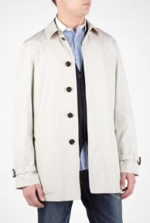 Burberry Brit  Taupe Washed Light Cotton Whitehall Trench Coat by Burberry Brit