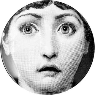 wall plate   FORNASETTI   Wall art   Home accessories   Shop Home
