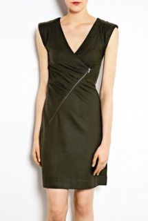 Marc by Marc Jacobs  Fiona Asymmetric Zip Wool Dress by Marc By Marc Jacobs