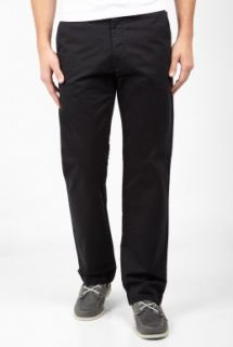 Black Classic Twill D1 Straight Chinos by Dockers   Black   Buy Trousers Online