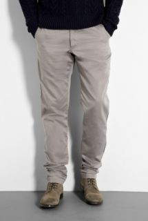 Oliver Spencer  Dark Stone Cotton Worker Chinos by Oliver Spencer