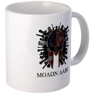 Molon Labe Come and Get Them Coffee Mug for