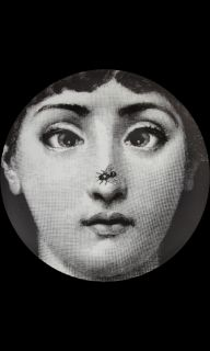 Fornasetti Theme & Variations Decorative Plate #363