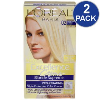 LOreal Excellence Creme Blonde Supreme Hair Color   Lt Ash Blonde #01