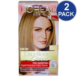 LOreal Excellence Creme Pro Keratine Hair Color   Ash Blonde #8A   2