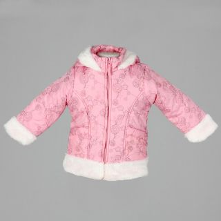 Bongo Toddler Girls Printed Coat